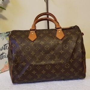 LV speedy 30 vintage authentic
